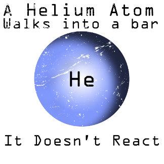 Helium Atom walks into a Bar doesn't react