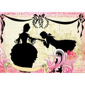 Romantic Silhouettes & Castle Collage