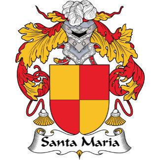 Santa Maria Family Crest