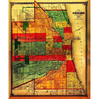 Vintage Chicago Maps