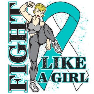 Cervical Cancer Fight Like A Girl Kickin Butt