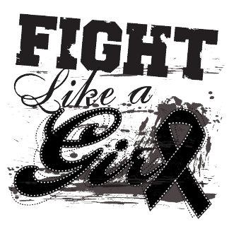 Fight Like a Girl Spray Paint - Melanoma