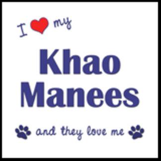 I Love My Khao Manees (Multiple Cats)