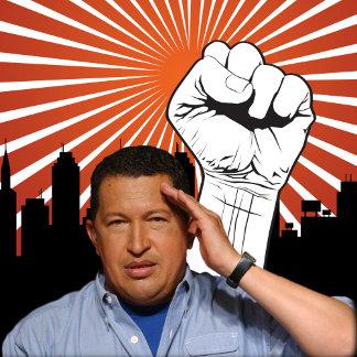 Hugo Chavez - Hugo Salutes style