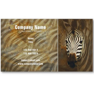 Business Profile cards - African wildlife
