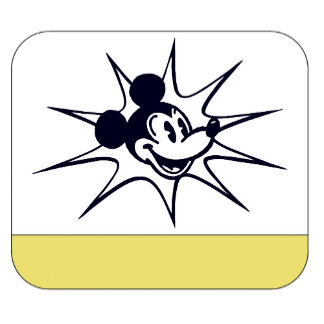 Antique Mickey Mouse Starburst