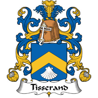 Tisserand Family Crest