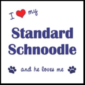 I Love My Standard Schnoodle (Male Dog)