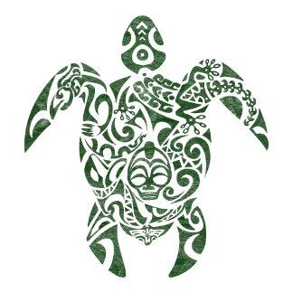 Turtle (Letterpress Tribal Style)