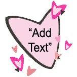 Customizable Pink Hearts