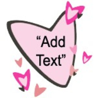 Customizable Pink Hearts