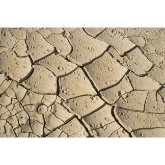 Cracked Mud formation in the Valley floor of