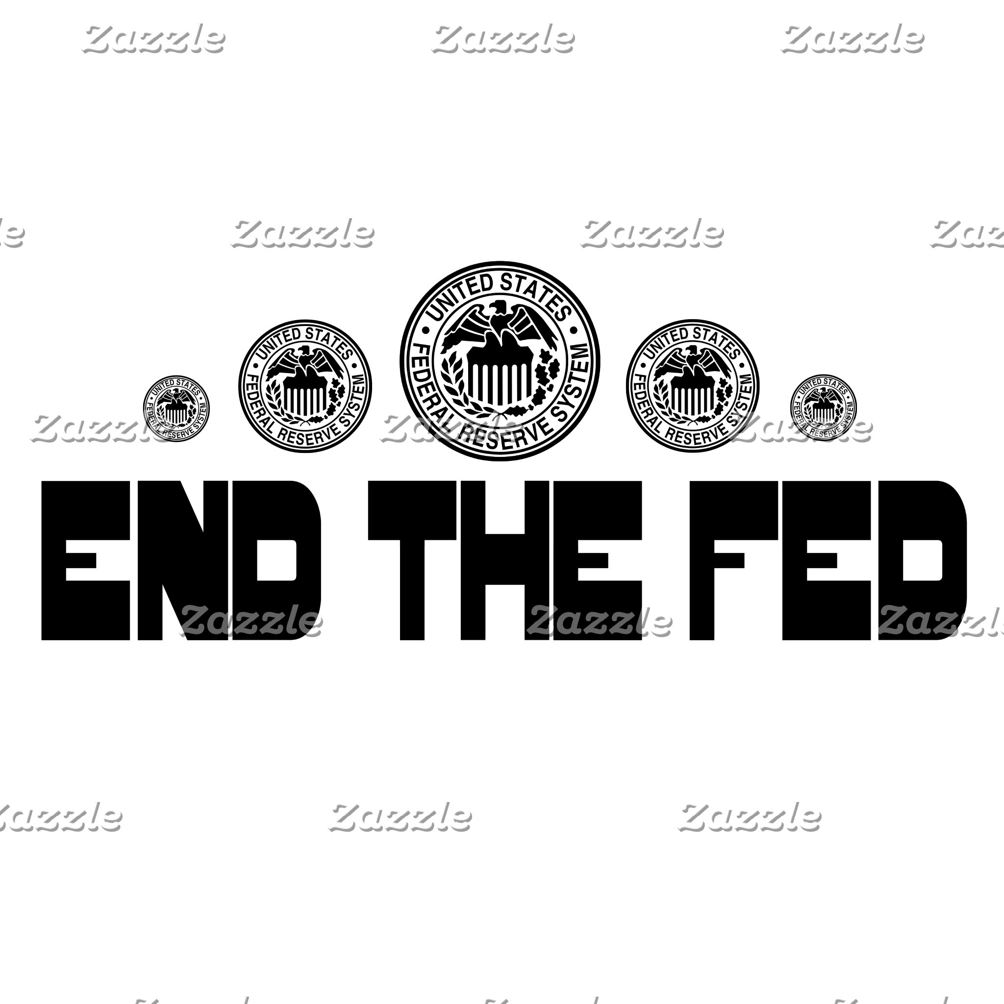 END THE FED (5 Designs)