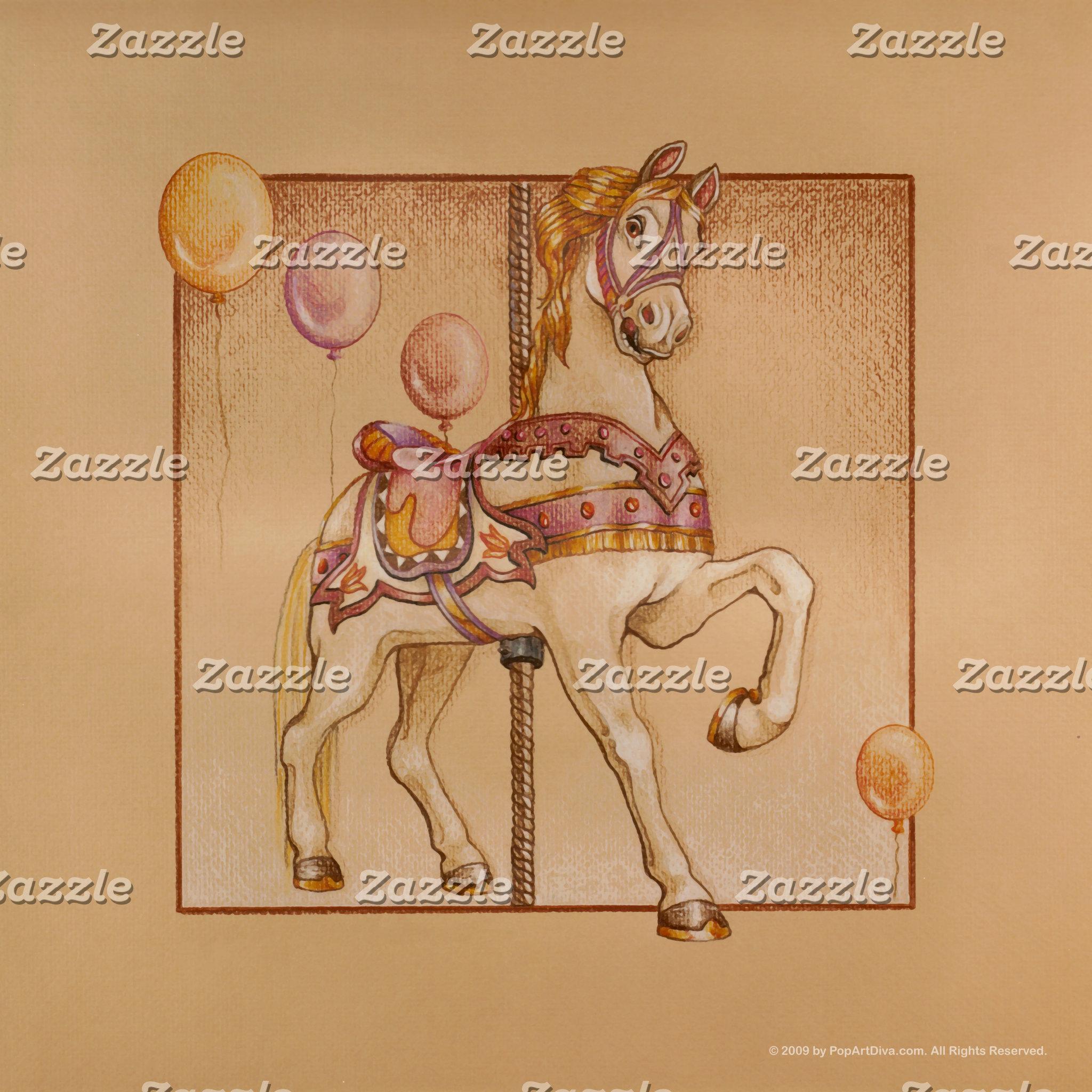Purple Passion Pony Carousel