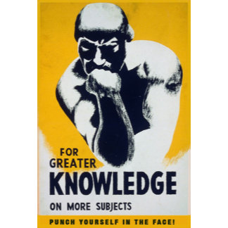 For Greater Knowledge / Punch Yourself in the Face