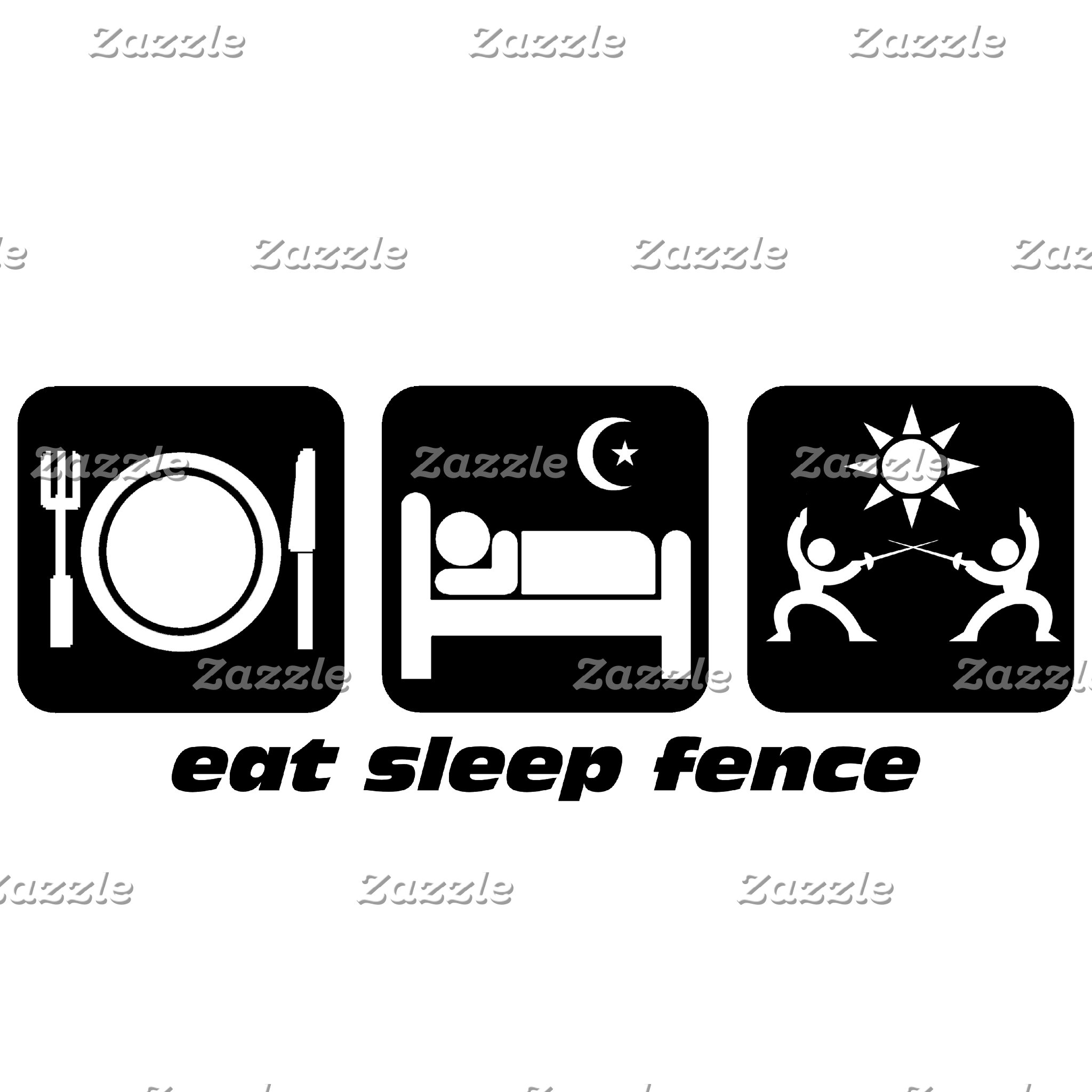 eat sleep fencing