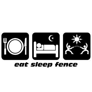 eat sleep fencing