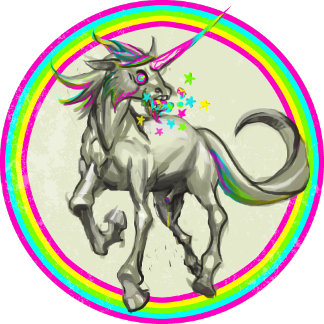 evil rabid unicorn from hell