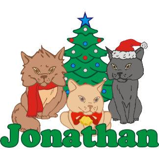 Christmas Cats Jonathan
