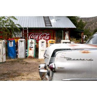 Dixon, New Mexico, United States. Vintage car