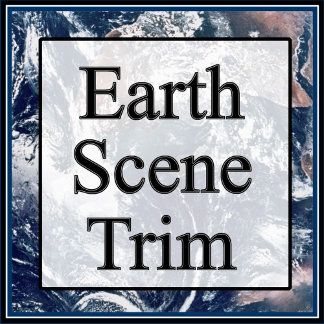 Earth Trim Border and Background
