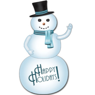 Happy Holidays Snowman