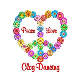 Clog Dancing Peace Love