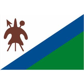 Lesotho Flag (1987-2006)