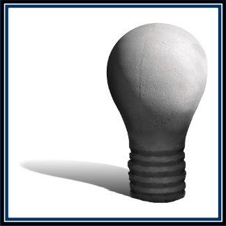 Concrete Lightbulb