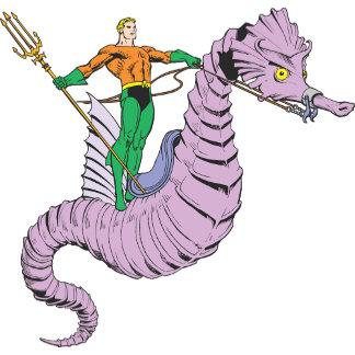 Aquaman Rides Seahorse