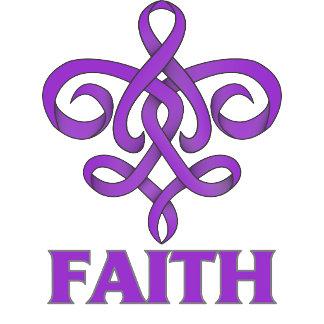 Epilepsy Faith Fleur de Lis Ribbon