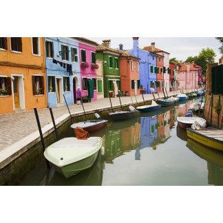Island of Burano, Burano, Italy. Colorful 4
