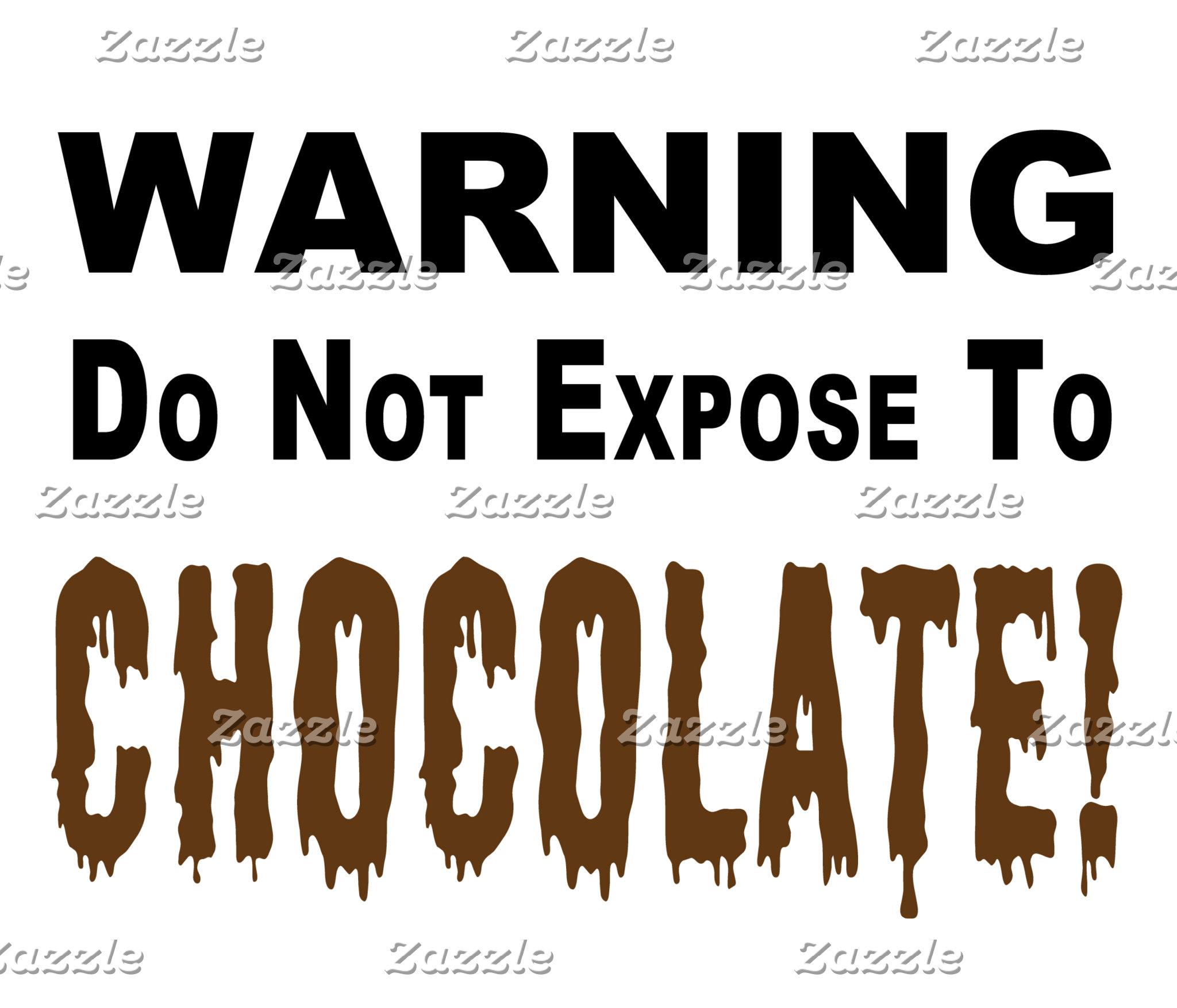 Chocolate Exposure Warning