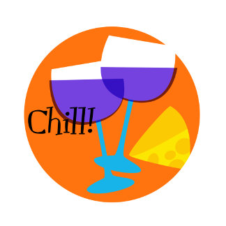 """""""Chill Poster Print"""""""