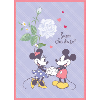 Mickey Mouse - Save the Date