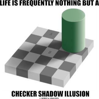 Life Is Frequently Nothing But A Checker Shadow