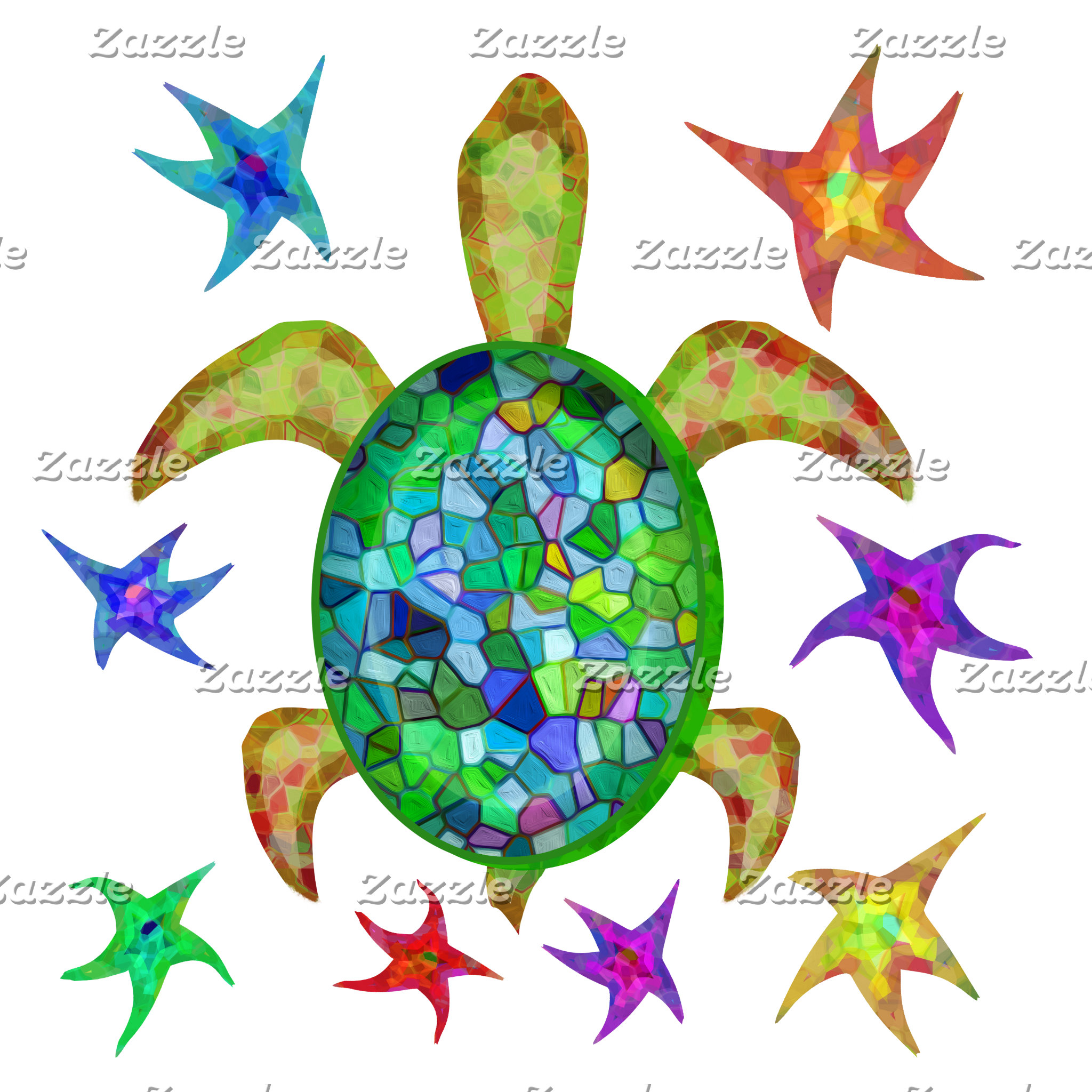 Dancing Star Turtle