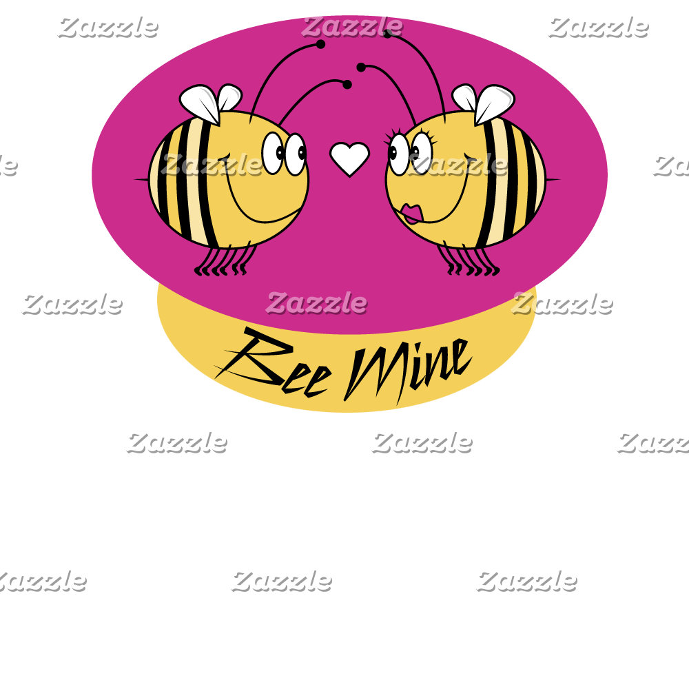 Bee Mine T-shirts, Cards, Gifts