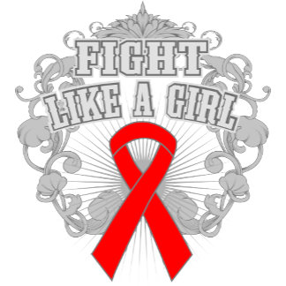 Blood Cancer Fight Like A Girl Fleurish
