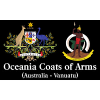 Oceania Coats of Arms
