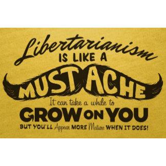 Libertarian Stache