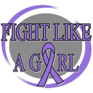 Hodgkins Lymphoma Fight Like A Girl Circular