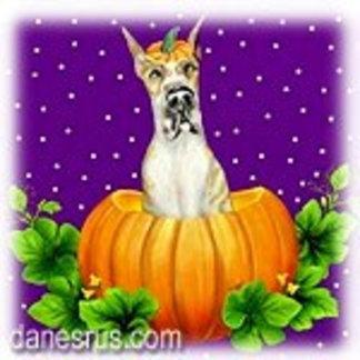 Halloween Dane-O-Lantern