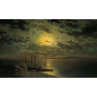 Kamenev's Moonlit Night On The River