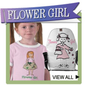 Flower Girl T-shirts, Bags, Ornaments, Gifts