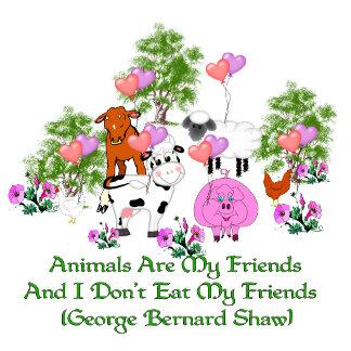G. B. Shaw Vegetarian Quote