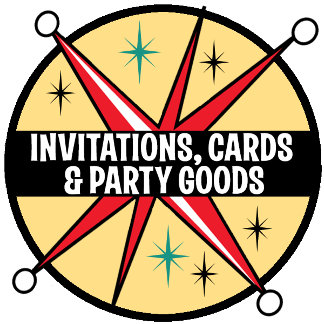 Invites, Cards + Party Goods