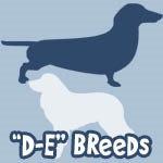 Dog Breeds D to E