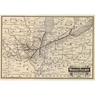 Map Wabash Railway