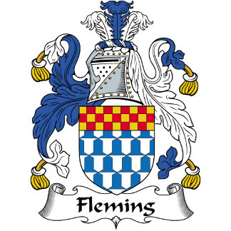 Fleming Family Crest / Coat of Arms